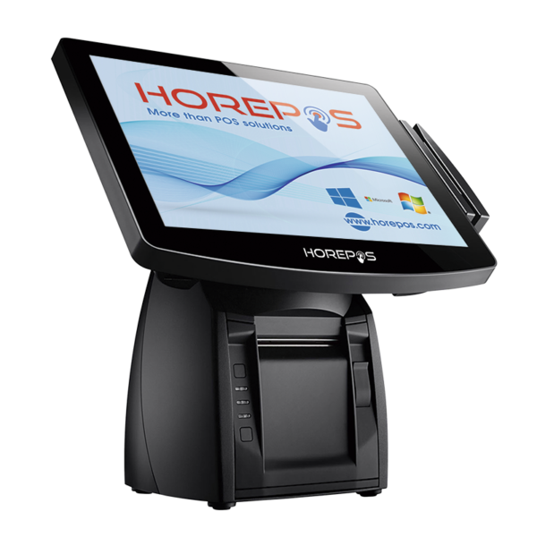 TPV HOREPOS POP-650 vista frontal lateral