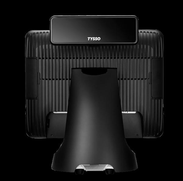 TPV TYSSO TP-7715 vista trasera con visor