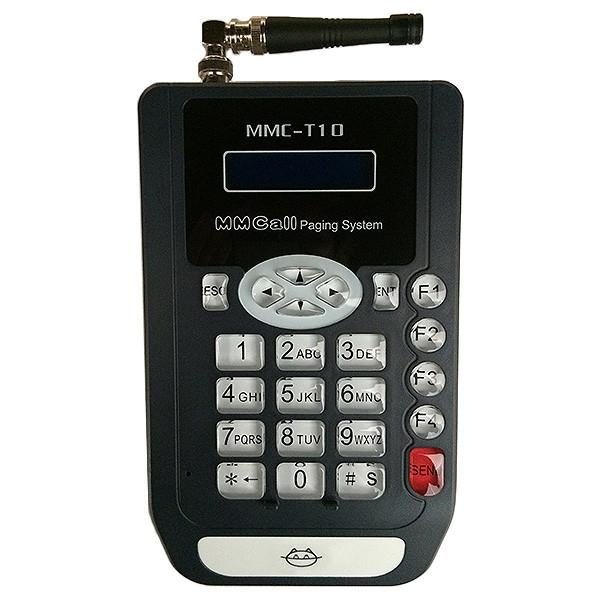 Transmisor y Cargador Pager T02