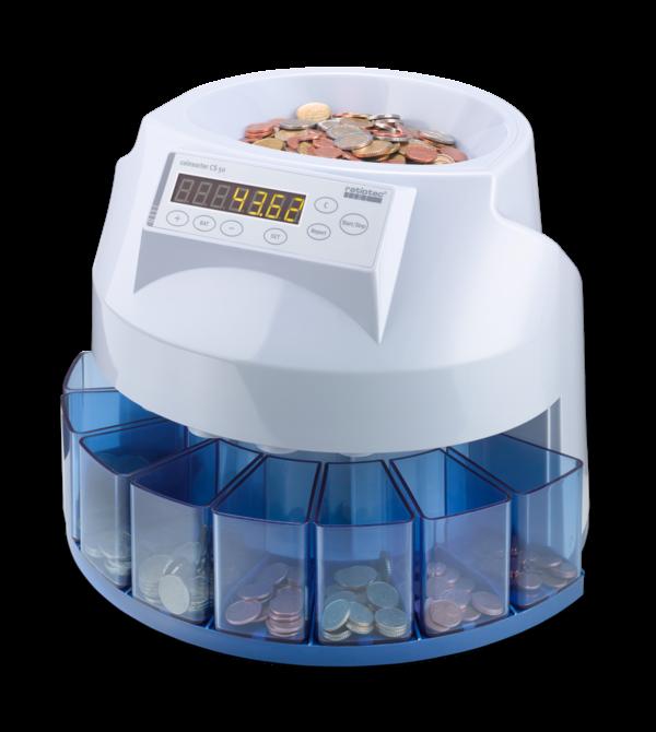 Contadora de monedas Radiotec CS50