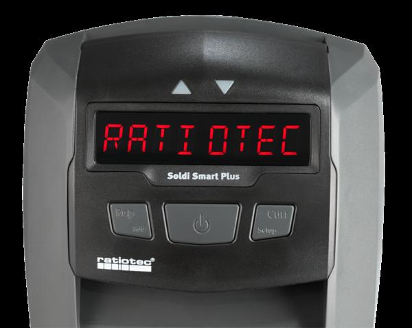 Detector de billetes falsos Soldi Smart Plus Radiotec