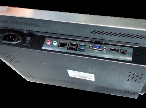 Monitor de cocina HOREPOS KD-1080 conexiones
