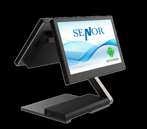 TPV Senor S1 con pantalla trasera cliente