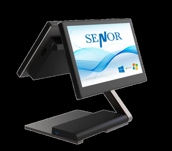 Senor S3 con pantalla trasera cliente